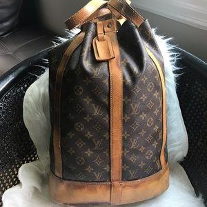 Authentic Louis Vuitton RandonneGM Back Pack